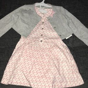 Brand new with tags,  girls dress size 18mos